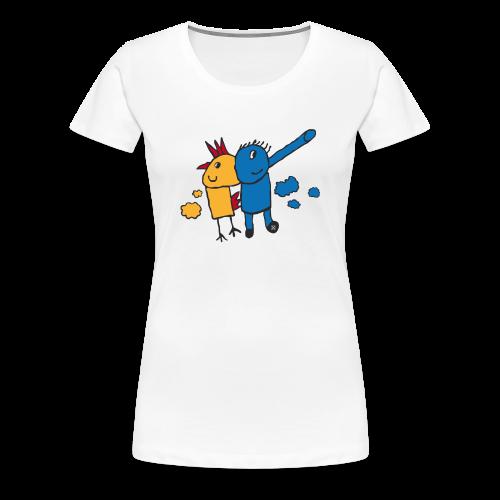 Gallifante - Camiseta premium mujer