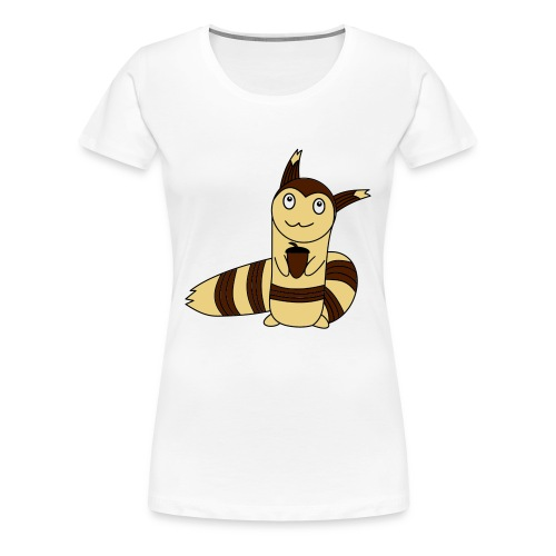 Wiesel in Farbe - Frauen Premium T-Shirt