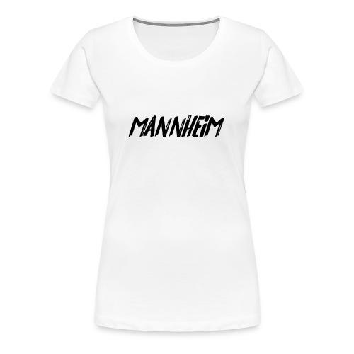 Mannheim (Filzstift Schriftzug) - Frauen Premium T-Shirt