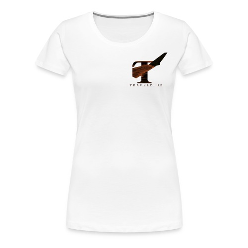 TRAVELCLUB - Frauen Premium T-Shirt