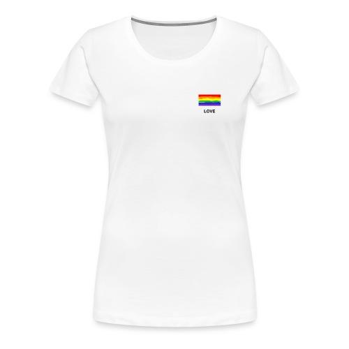 love is love Shirt - Frauen Premium T-Shirt