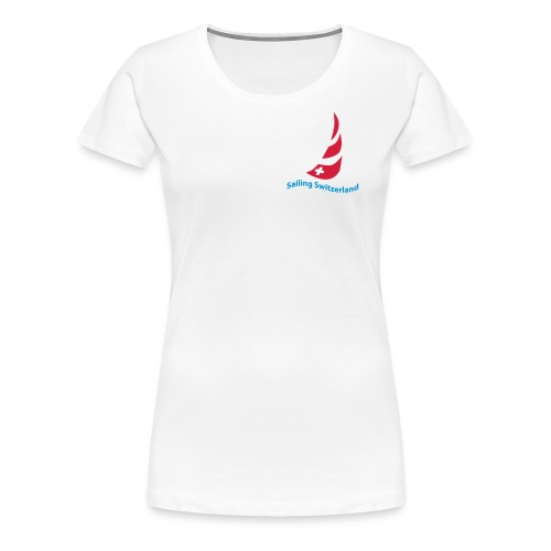 logo sailing switzerland - Frauen Premium T-Shirt