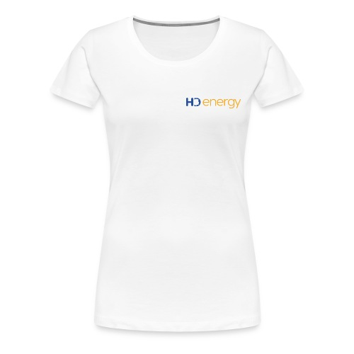 Energy HD-logo - Vrouwen Premium T-shirt