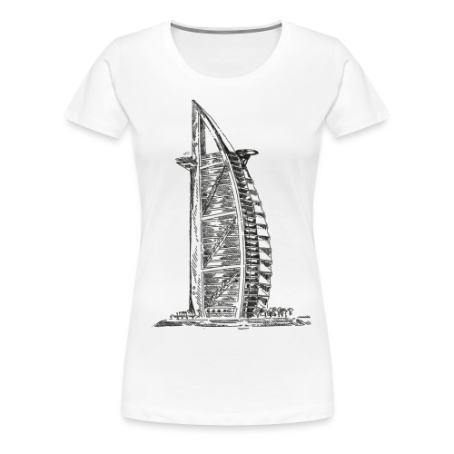 211 DUBAI - Frauen Premium T-Shirt
