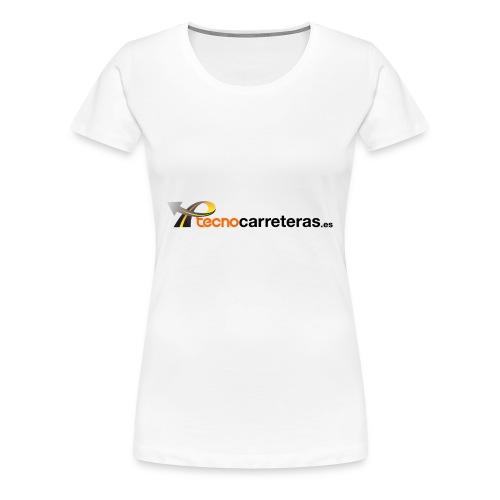 Tecnocarreteras - Camiseta premium mujer