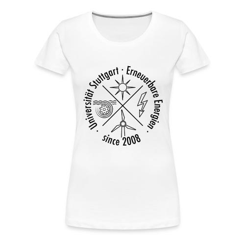 Erneuerbare Energien Schwarz - Frauen Premium T-Shirt