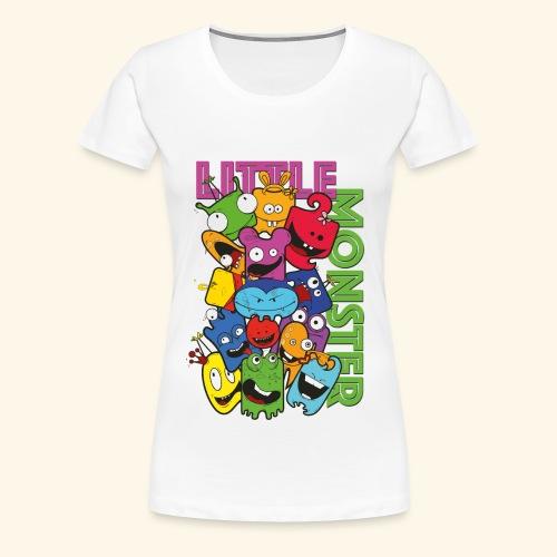 little monster - kleine Monster - Frauen Premium T-Shirt