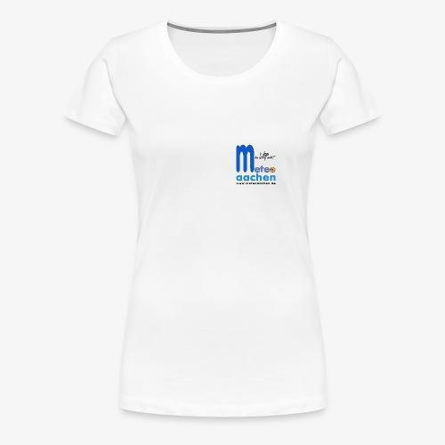 Wetter, das süchtig macht! - Frauen Premium T-Shirt
