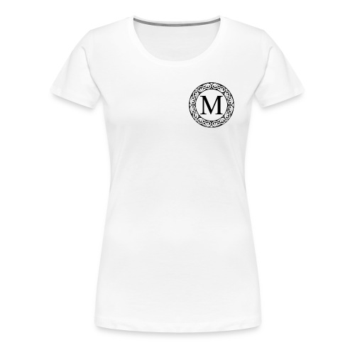 the letter M - Women's Premium T-Shirt