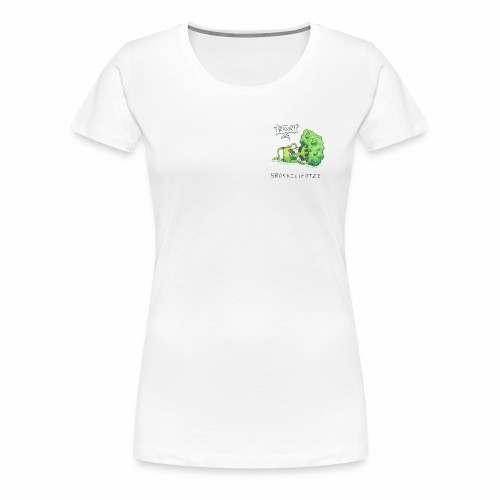 Sexy Brokkolifotze - Frauen Premium T-Shirt