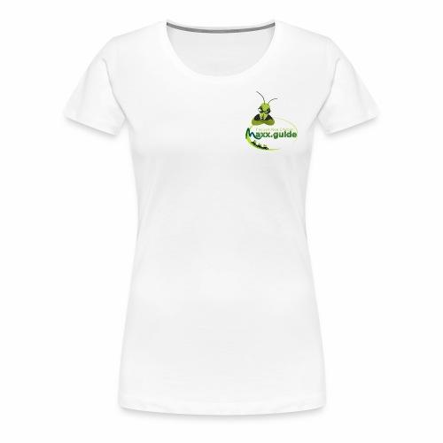 Freizeit.Neu.Erleben mit maxx.guide! - Frauen Premium T-Shirt