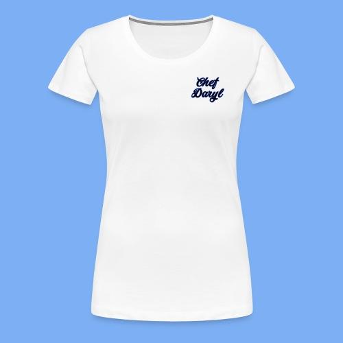chef daryl design - Women's Premium T-Shirt