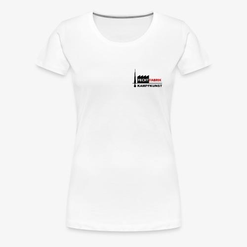 Fechtfabrik (Logo) - Frauen Premium T-Shirt