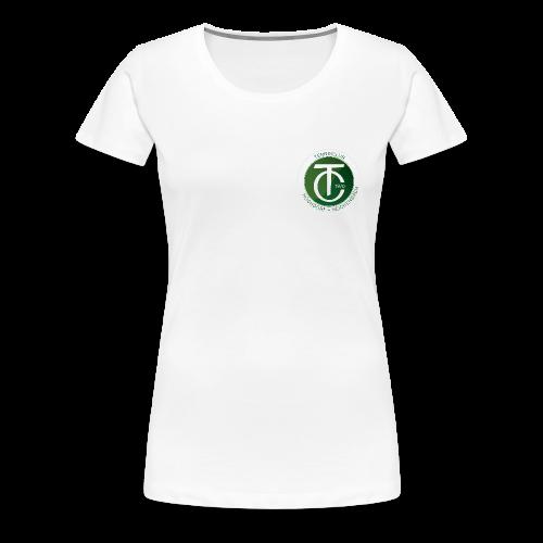 TCHR Logo Original - Frauen Premium T-Shirt