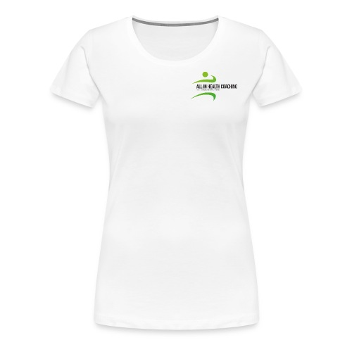 All-in Health Coaching logo - Vrouwen Premium T-shirt