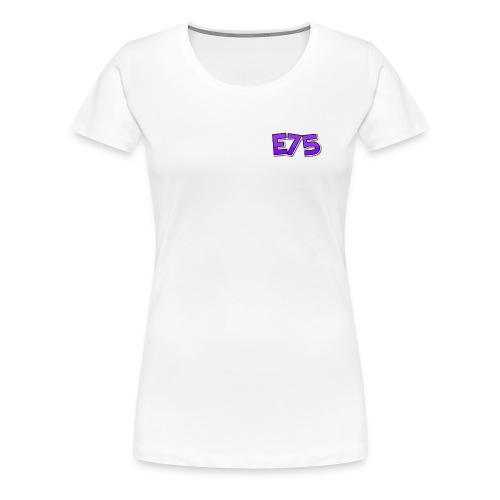 Ethan75HD - E75 Logo - Women's Premium T-Shirt
