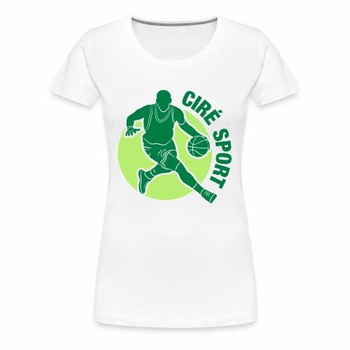 BOUTIQUE CIRE SPORT - T-shirt Premium Femme