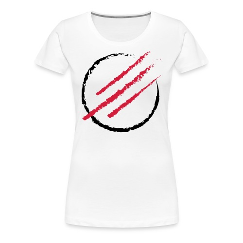 Scratch the Circle - Frauen Premium T-Shirt