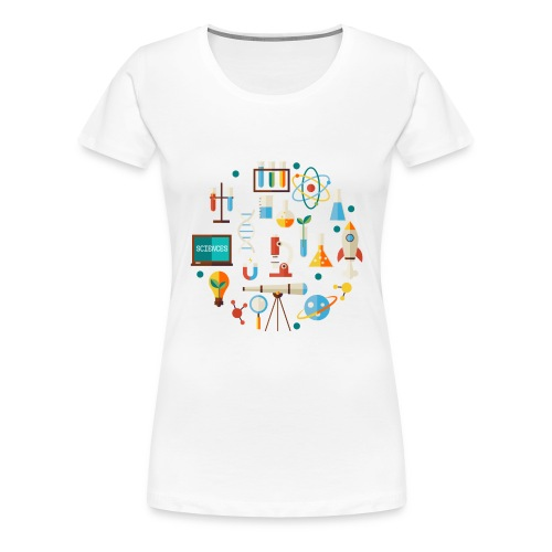 Les sciences - T-shirt Premium Femme