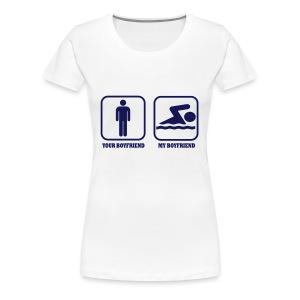 BOYFRIEND - Maglietta Premium da donna