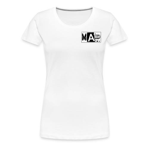 **MAD T-SHIRTS (LOGO-KLEIN)** - Frauen Premium T-Shirt