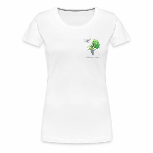 RAGE Brokkolifotze - Frauen Premium T-Shirt