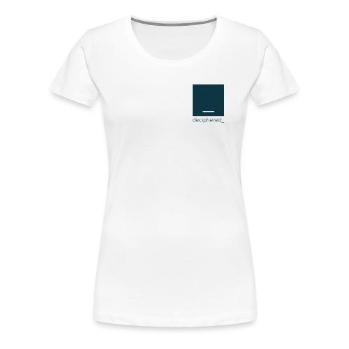 Deciphered Swag - Women's Premium T-Shirt