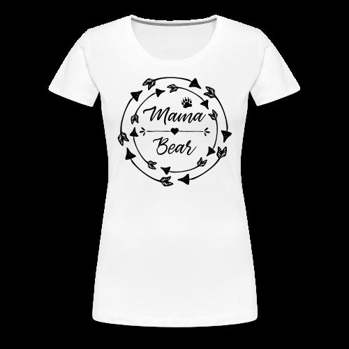 Mama Bear - ethno Indianer Pfeile - Frauen Premium T-Shirt