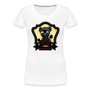 CarbonKulture MTB:NoDigNoRide - Women's Premium T-Shirt