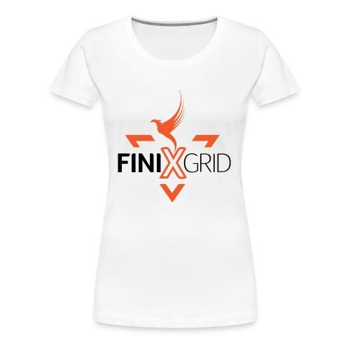 FinixGrid Orange - Women's Premium T-Shirt