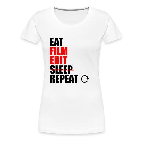 Life of a filmmaker - Frauen Premium T-Shirt