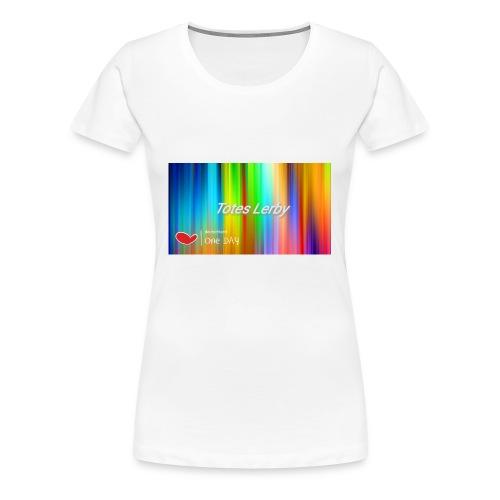 Totes Lerby desing - Frauen Premium T-Shirt