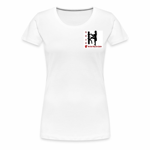Kungfu Logo - Frauen Premium T-Shirt