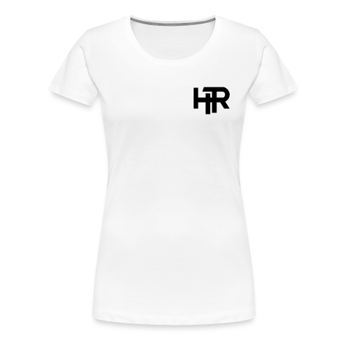 HR Logo black - T-shirt Premium Femme