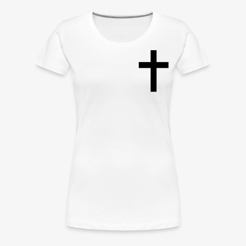 Christian cross - Women's Premium T-Shirt