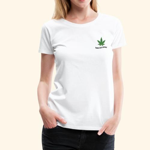 SMOKE WEED EVERYDAY - Frauen Premium T-Shirt