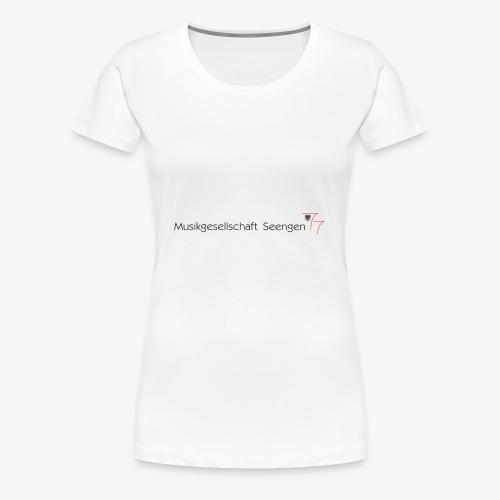 Logo MGS - Frauen Premium T-Shirt