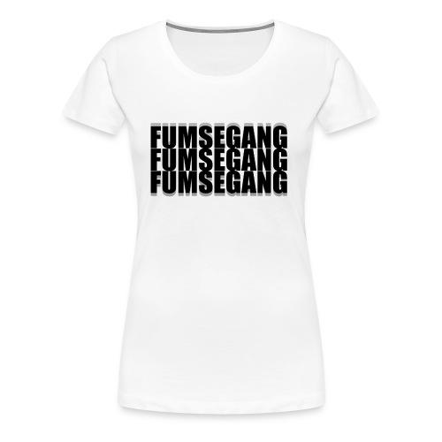 FUMSEGANG Logo Design - Frauen Premium T-Shirt