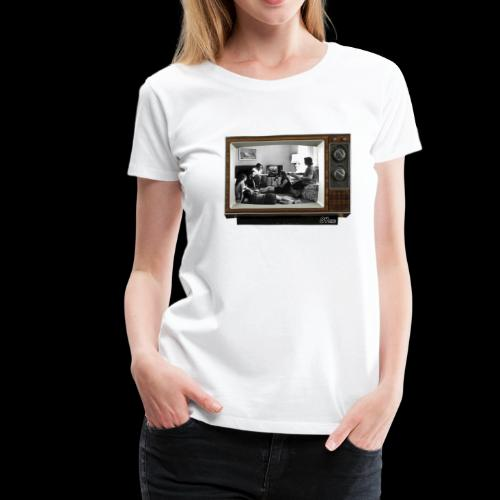 TV @ the TV - T-shirt Premium Femme