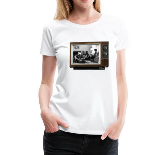 TV @ the TV - T-shirt Premium Femme