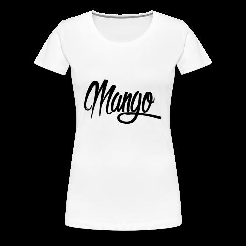 Mango Black Design Women - Vrouwen Premium T-shirt