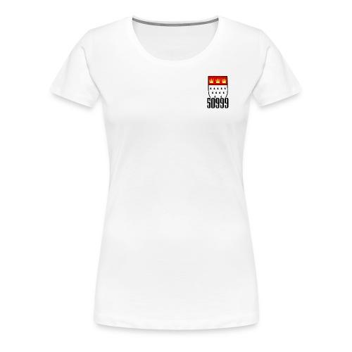 50999 über der Brust - Frauen Premium T-Shirt