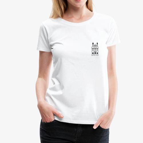 Speyer - Dom - Minimal - Modern Font - Frauen Premium T-Shirt
