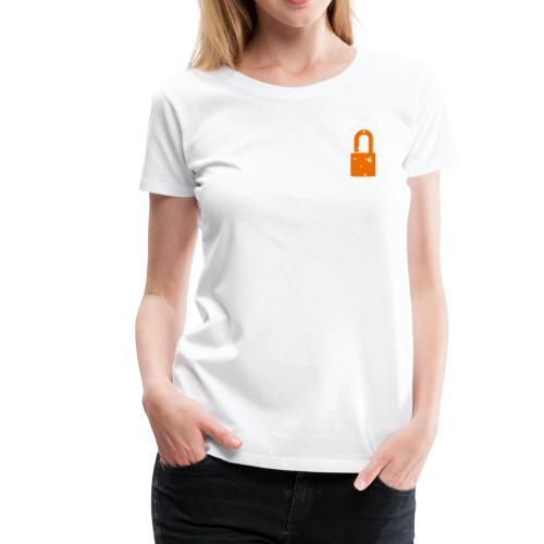 The Padlock - Women's Premium T-Shirt