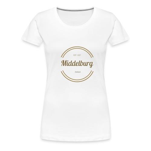Middelburg 1217 - Vrouwen Premium T-shirt