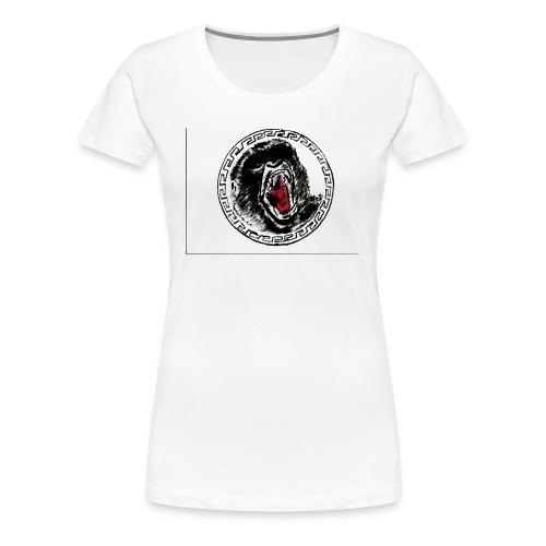 gezeichneter Print fuer ein T Shirt - Frauen Premium T-Shirt