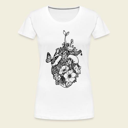 Ans Herz gewachsen - Frauen Premium T-Shirt