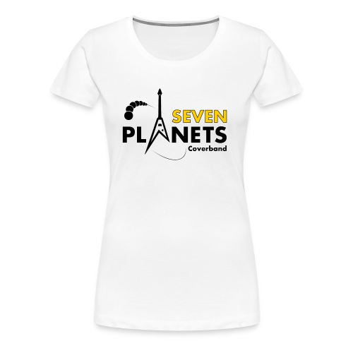 Seven Planets Logo - Frauen Premium T-Shirt