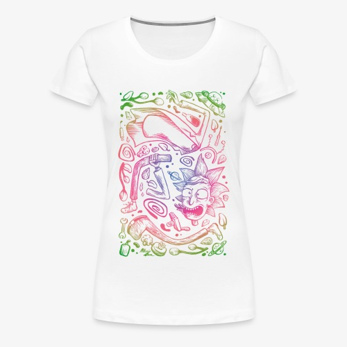 Space decomposition - T-shirt Premium Femme