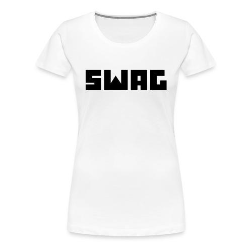 Swag Logo - Frauen Premium T-Shirt